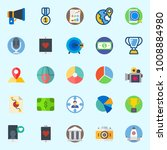 icons set about digital... | Shutterstock .eps vector #1008884980