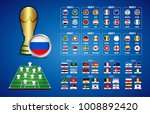 football world championship... | Shutterstock .eps vector #1008892420