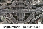 aerial view of highway and... | Shutterstock . vector #1008898000