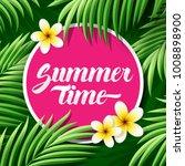 summer time vector illustration | Shutterstock .eps vector #1008898900