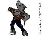 cartoon illustration of a... | Shutterstock .eps vector #1008901960