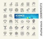 science  scientific... | Shutterstock .eps vector #1008909373