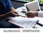 investors are receiving large... | Shutterstock . vector #1008916333