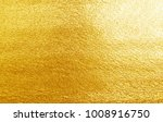 shiny yellow leaf gold foil... | Shutterstock . vector #1008916750