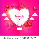 happy valentine's day card... | Shutterstock .eps vector #1008920539