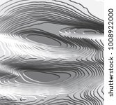 black abstract 3d curve pattern ... | Shutterstock .eps vector #1008922000