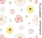 seamless pattern with colorful... | Shutterstock .eps vector #1008923716