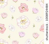 seamless pattern with colorful... | Shutterstock .eps vector #1008924484