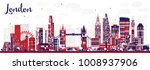 abstract london england city... | Shutterstock .eps vector #1008937906