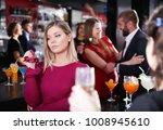 girl upset because her... | Shutterstock . vector #1008945610