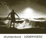 copy of old lithographic... | Shutterstock . vector #1008945850