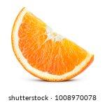 Orang Fruit Isolate. Orange...