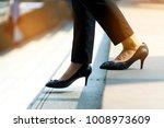 young smart business woman... | Shutterstock . vector #1008973609