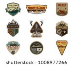 traveling  outdoor badge... | Shutterstock . vector #1008977266