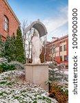Small photo of KRAKOW, POLAND -JANUARY 20, 2018: The Divine Mercy Sanctuary, Roman Catholic basilica dedicated to Divine Mercy devotion, as the resting place of Saint Faustina Kowalska, Krakow, Poland.