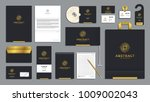 corporate identity branding... | Shutterstock .eps vector #1009002043
