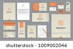 corporate identity branding... | Shutterstock .eps vector #1009002046