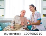 the young smiling doctor... | Shutterstock . vector #1009002310