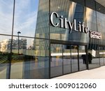 entrance to city life  the new... | Shutterstock . vector #1009012060