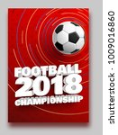football 2018 world... | Shutterstock .eps vector #1009016860