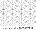 seamless vector pattern in... | Shutterstock .eps vector #1009017739