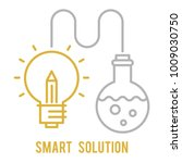 smart solution outline icon | Shutterstock .eps vector #1009030750