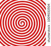 red white round abstract vortex ...   Shutterstock .eps vector #1009033504
