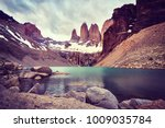torres del paine national park  ...   Shutterstock . vector #1009035784