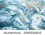 natural luxury. marbleized... | Shutterstock . vector #1009036810