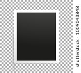 photo frame on transparent... | Shutterstock .eps vector #1009043848