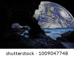 fantastic views of rocky coast...   Shutterstock . vector #1009047748