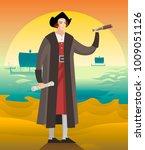 great america discoverer... | Shutterstock .eps vector #1009051126