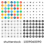 medical icons set | Shutterstock .eps vector #1009060090