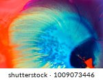 Colorful Paint Background In...