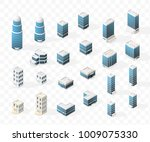 collection of realistic... | Shutterstock .eps vector #1009075330