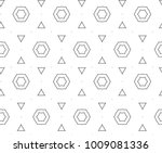 seamless vector pattern in... | Shutterstock .eps vector #1009081336