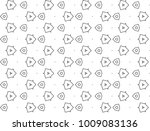 seamless ornamental vector... | Shutterstock .eps vector #1009083136