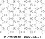 seamless ornamental vector... | Shutterstock .eps vector #1009083136