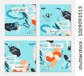 hand drawn creative universal... | Shutterstock .eps vector #1009093513