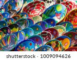 souvenirs on the market at... | Shutterstock . vector #1009094626