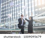 group of business people... | Shutterstock . vector #1009095679