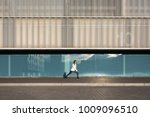 female athlete doing stretching ... | Shutterstock . vector #1009096510