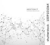 abstract plexus structure of... | Shutterstock .eps vector #1009101064