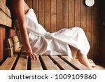 a beautiful woman wearing a... | Shutterstock . vector #1009109860
