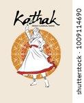 illustration of indian... | Shutterstock .eps vector #1009114690