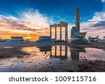 the temple of apollo in side...   Shutterstock . vector #1009115716