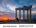 the temple of apollo in side... | Shutterstock . vector #1009115719