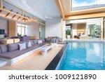 luxury interior design in... | Shutterstock . vector #1009121890