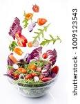 Tasty Mixed Salad With Fresh...