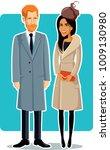 london  uk  24 january  meghan... | Shutterstock .eps vector #1009130980